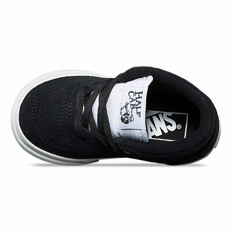 Vans Half Cab Snake Skin Black/Blanc Suede Toddler Shoes US5 only