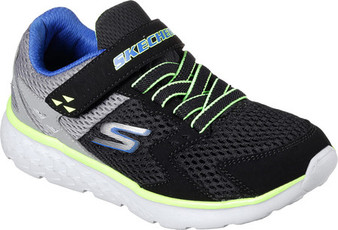Skechers Go Run 400 Proxo Boys Black Sneakers