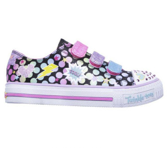 Skechers Twinkle Toes Poppin' Posse Girls Light Up Shoes