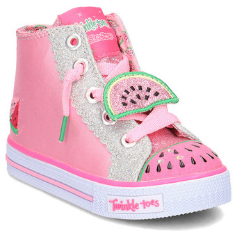Skechers Twinkle Toes Patch Party girls Light Ups