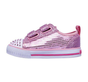 Skechers Twinkle Toes Itsy Bitsy Pink girls Light Ups