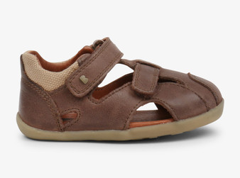 Bobux Step Up Chase Brown Sandal