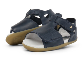 Bobux Step Up Mirror Navy Sandals