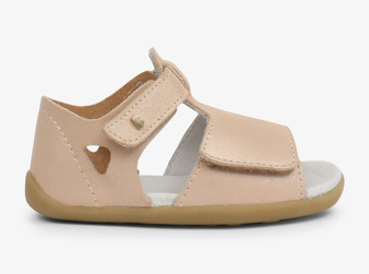 Bobux Step Up Mirror Champagne Shimmer Sandals
