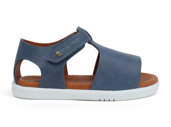 Bobux I Walk Mirror Denim Sandal