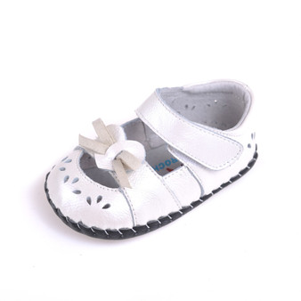 """Caroch """"Sweet Love"""" Leather Soft Sole Shoes"""