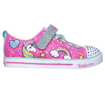 Skechers Twinkle Toes Unicorn Craze  Light Ups