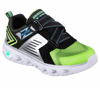 Skechers Hypno Flash Rapid Quake light up toddler boys  Runners