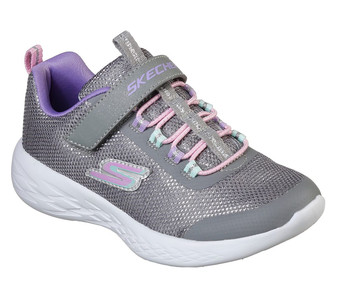 Skechers Go Run 600 Sparkle Runner Grey Sneakers
