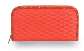 Mimpi Mannis Puffy Wallet Orange