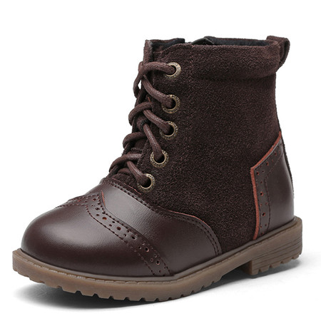 "Snoffy ""Boho"" Brown Leather Boots"