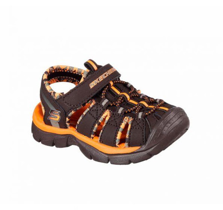 Skechers Relix Trophix brown boys kids sandals