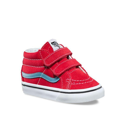 Vans SK8-Mid Rococco Red Re Issue Toddler Shoes
