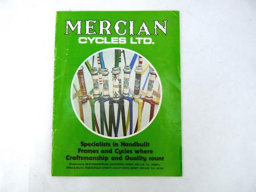 Mercian Bicycle catalog