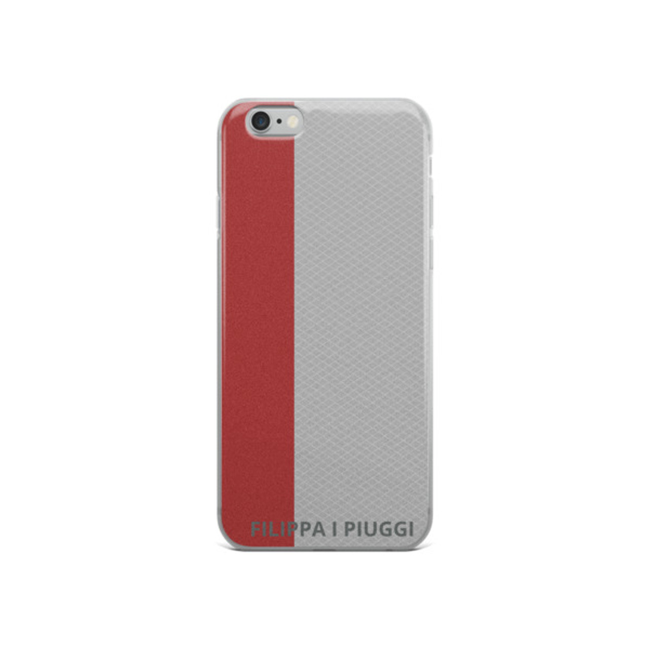 iPhone Case RED & GREY