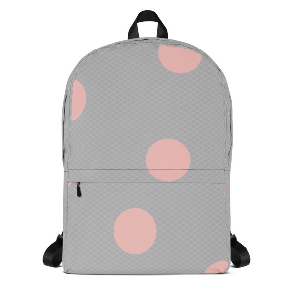 Backpack PINK DOTS