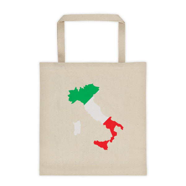 Tote bag  GEOGRAPHY OF ITALY