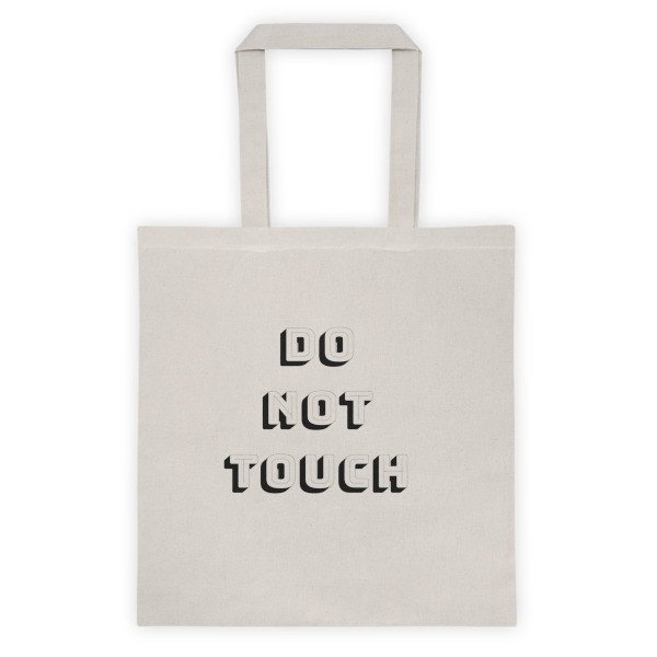 Tote bag DO NOT TOUCH