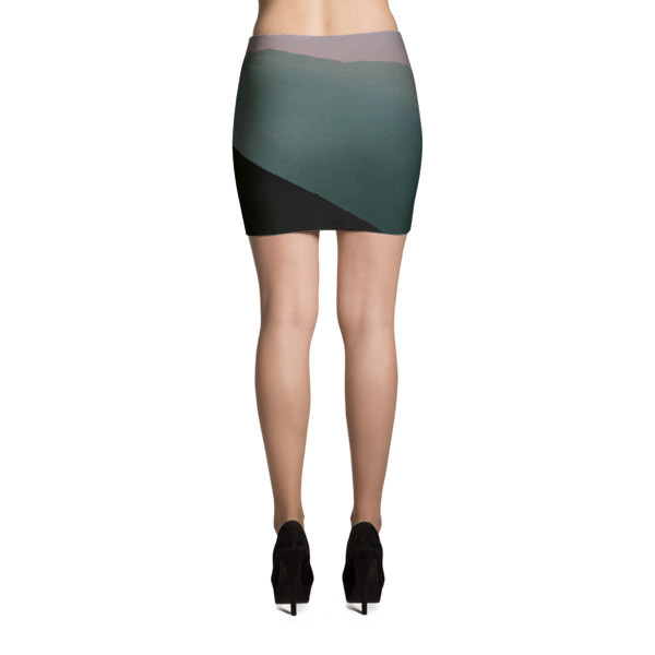 A miniskirt (sometimes hyphenated as mini-skirt or separated as mini skirt) is a skirt with a hemline well above the knees, generally at mid-thigh level, usually no longer than 10 cm (4 in) below the buttocks.
