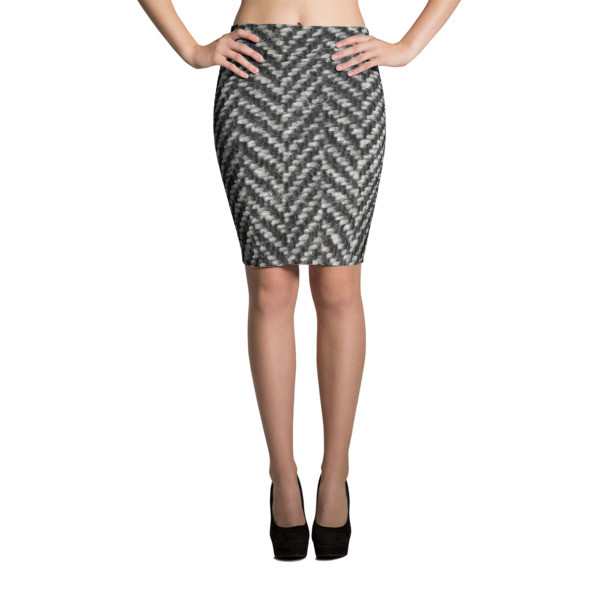 Pencil Skirt TWEED