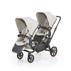 Zoom Twin Pram 2017 Camel