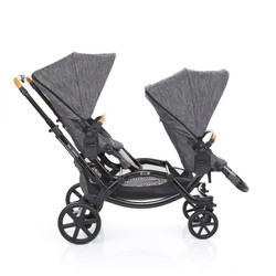 Zoom Twin Pram 2017 Wood (Sold Out)