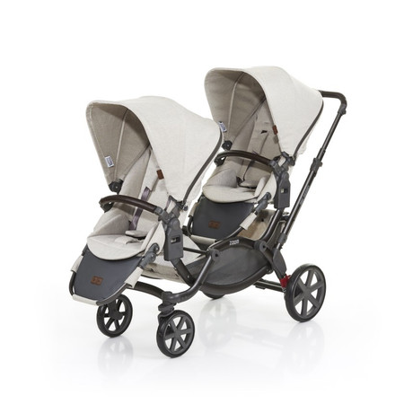 Zoom Twin Pram 2017 Camel (Sold Out)
