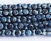 4x6mm Granite Galaxy Lapis Pellets (300 Pieces)