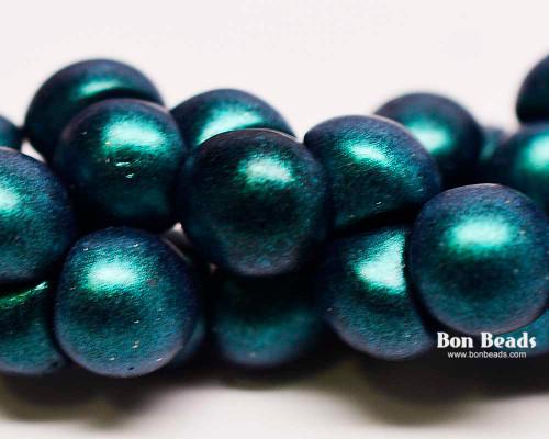 9x8mm Zircon Iris Wide Cap Mushroom Buttons (150 Pieces)