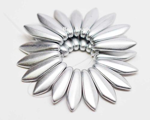 5x16mm Silky Silver Daggers (300 Pieces)