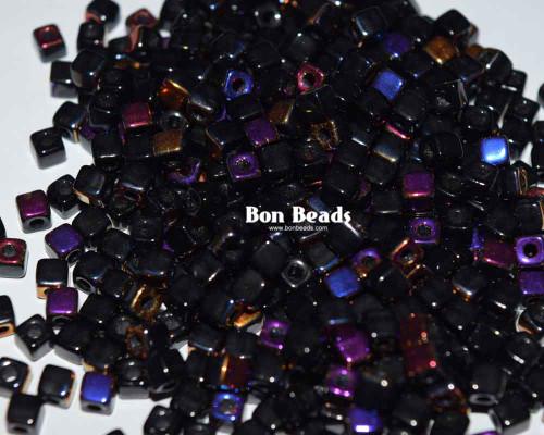 6/0 Black Azzurro Cubix® (50 Grams)