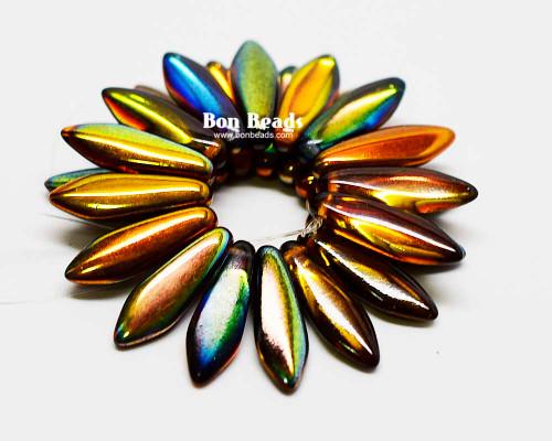 5x16mm Magic Amber Daggers (300 Pieces)