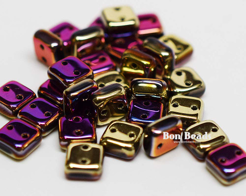 6mm California Purple Rush 2 Hole Chexx (50 Grams)