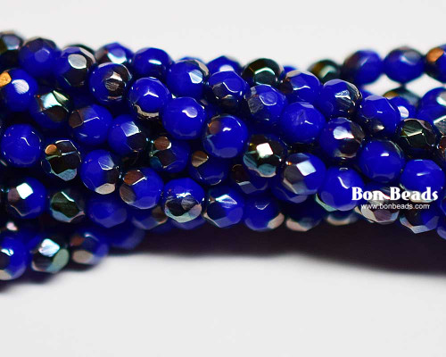 4mm Royal Luster Round Fire Polished (600 Pieces)