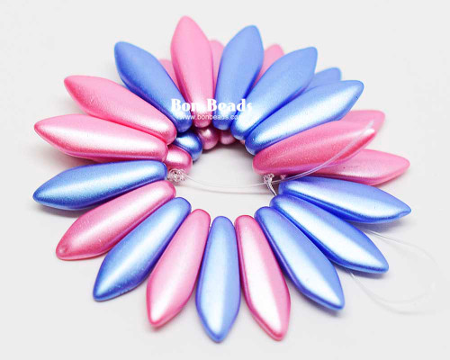5x16mm Cerulean Pink Mix Daggers (300 Pieces)
