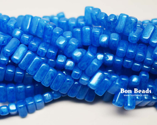 3x6mm Blue Monet 2 Hole Bricks (600 Pieces)