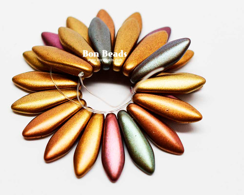 5x16mm Metallic Iris Mix Daggers (300 Pieces)