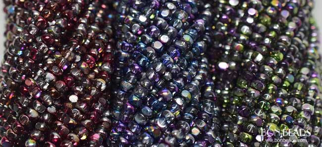 New 6/0 3 cut seed beads