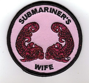 Submariner's Wife patch