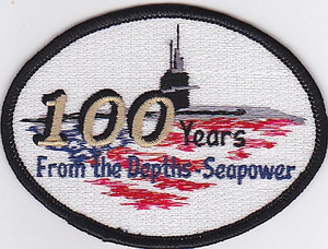 100th Anniversary of Submarine Service patch