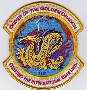 Golden Dragon-Inter. Date Line patch