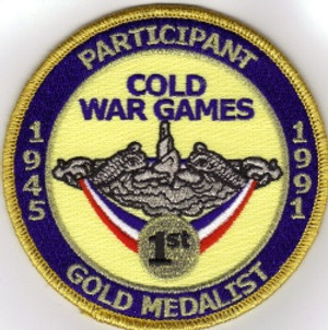 First Place in the Cold War patch
