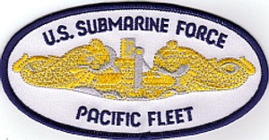 Officer's U.S. Submarine Force/Pacific Fleet PATCH