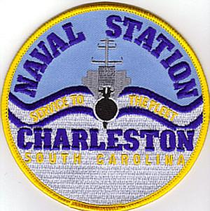 Charleston Naval Station Patch