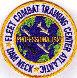 Dam Neck Fleet Combat Training Center PATCH