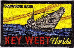 Key West Submarine Base PATCH
