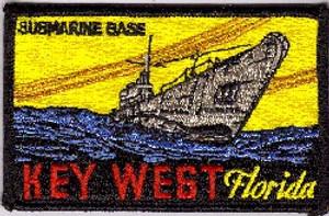 Key West Submarine Base PATCH