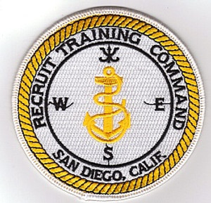 San Diego Recruit Training Command/RTC PATCH