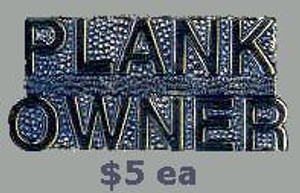 Plankowner Pin