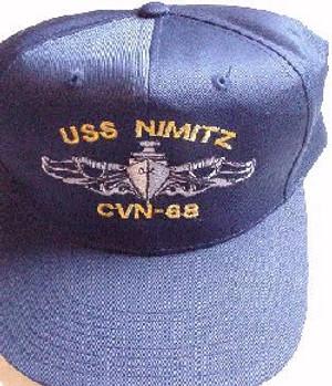 Ballcap, Surface Warfare Hat-custom embroidered